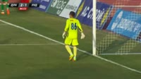 Miroslav Budinov scores own goal in the match Dunav Ruse vs Ludogorets
