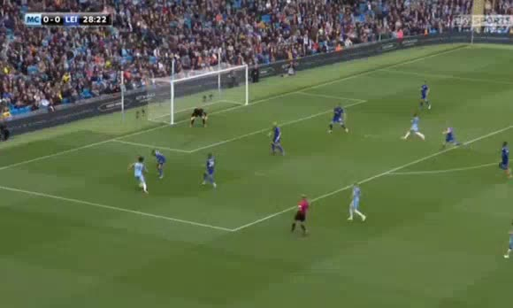 Manchester City Leicester goals and highlights