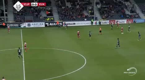 Eupen Kortrijk goals and highlights