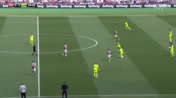 West Ham Liverpool goals and highlights