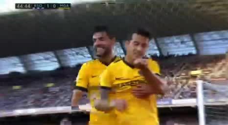 Real Sociedad Malaga goals and highlights