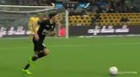 Johan Absalonsen scores in the match Nordsjaelland vs Sonderjyske