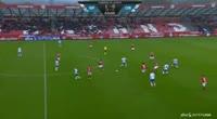 Mikkel Desler scores in the match Silkeborg vs Odense