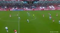 Robert Skov scores in the match Silkeborg vs Odense