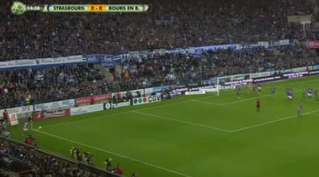 Strasbourg Bourg Peronnas goals and highlights
