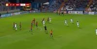 Phil Foden scores in the match Spain U17 vs England U17