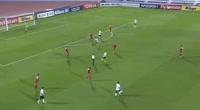 Tchetche Kipre scores in the match Al Jaish vs Al Suwaiq