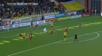 Alex Dyer scores in the match Elfsborg vs Ostersunds