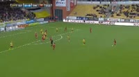Johan Bertilsson scores in the match Elfsborg vs Ostersunds