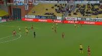 Saman Ghoddos scores in the match Elfsborg vs Ostersunds
