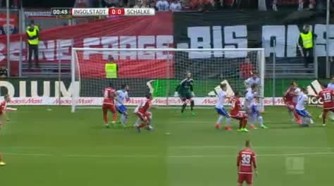 Ingolstadt Schalke goals and highlights