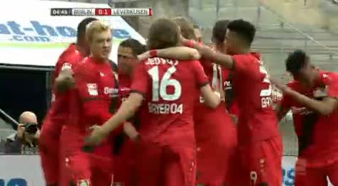 Hertha Berlin Bayer Leverkusen goals and highlights
