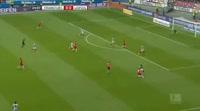 Marcel Sabitzer scores in the match Eintracht Frankfurt vs RB Leipzig