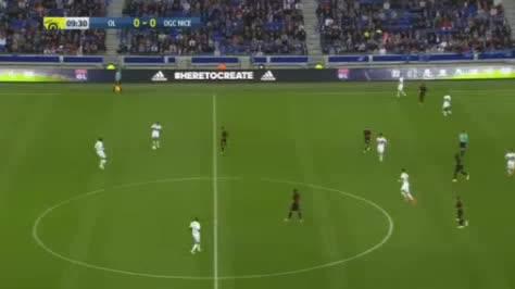 Lyon Nice goals and highlights
