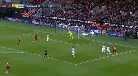 Guingamp Metz goals and highlights