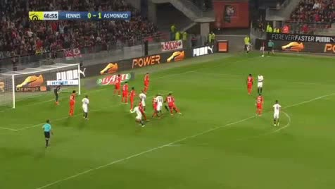 Rennes Monaco goals and highlights