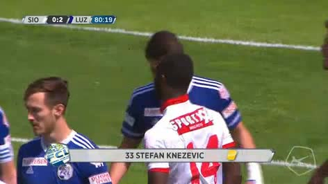 Sion Luzern goals and highlights