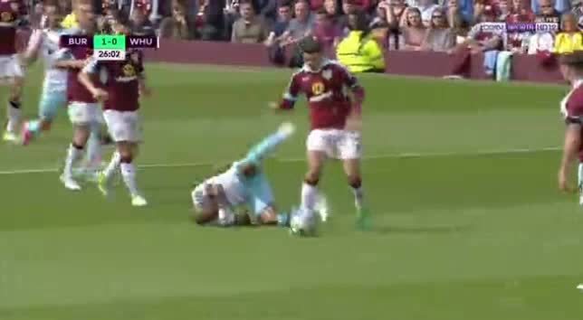 Burnley West Ham goals and highlights