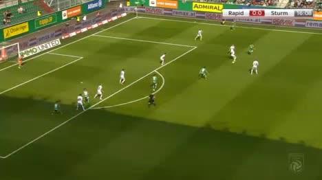 Rapid Wien Sturm Graz goals and highlights