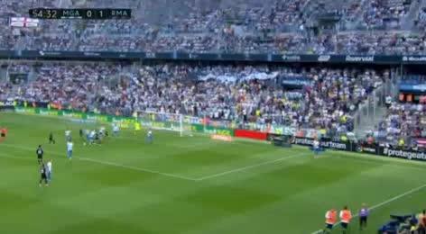 Malaga Real Madrid goals and highlights