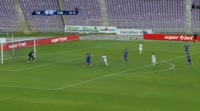Paul Pacurar scores in the match Poli Timisoara vs Pandurii