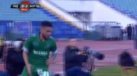 Claudiu Keseru scores in the match Ludogorets vs Botev Plovdiv