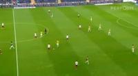 Matus Bero scores in the match Fenerbahce vs Trabzonspor