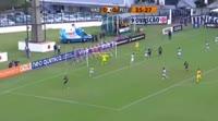 Luis Fabiano scores in the match Vasco vs Fluminense