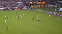 Andres Escobar scores in the match Vasco vs Fluminense