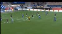 Evans Mensah scores in the match HJK vs SJK