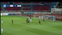 El Fardou Mohamed Ben Nabouhane receives a yellow card in the match Panionios vs AEK