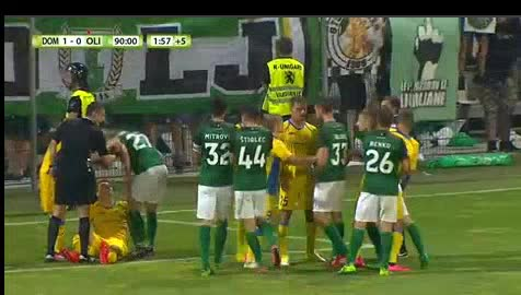 Domzale Olimpija Ljubljana goals and highlights
