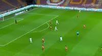 Turgut Sahin scores in the match Galatasaray vs Kasimpasa