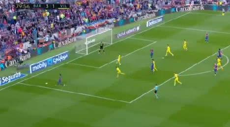 Barcelona Villarreal goals and highlights