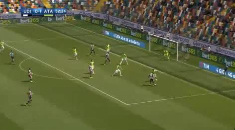 Udinese Atalanta goals and highlights