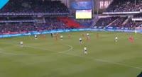 Andre Helland scores in the match Rosenborg vs Brann