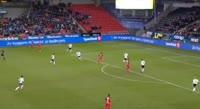 Gilli Rolantsson Sorensen scores in the match Rosenborg vs Brann