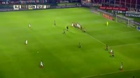 Matias Caruzzo scores in the match San Lorenzo vs Rosario Central