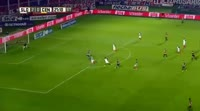 Teofilo Gutierrez scores in the match San Lorenzo vs Rosario Central