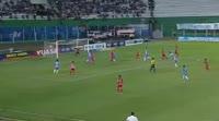 Eduardo Marcelo Aguirre Biscaldi scores in the match Blooming vs Guabira