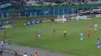 Jorge Lobera receives a red card in the match Blooming vs Guabira