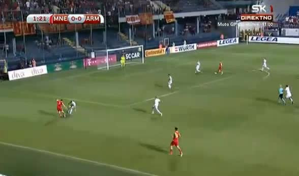 Montenegro Armenia goals and highlights