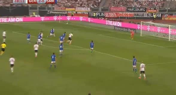 Germany San Marino goals and highlights