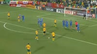 Darvydas Sernas scores in the match Lithuania vs Slovakia