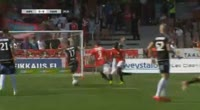 Filip Valencic scores in the match HIFK vs PS Kemi