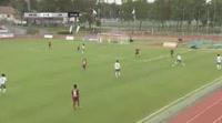 Aleksei Kangaskolkka scores in the match Mariehamn vs JJK Jyvaskyla