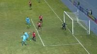 Edemir Rodriguez scores in the match Nacional Potosi vs Bolivar