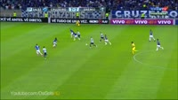 Benetti Ramiro scores in the match Cruzeiro vs Gremio