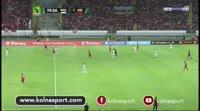 Walid El Karti scores in the match Wydad vs Al Ahly