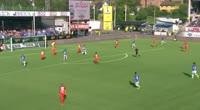 Kristoffer Zachariassen scores in the match Sarpsborg 08 vs Brann